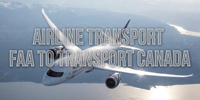 FAA to TC ATPL